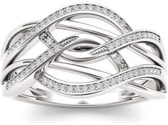 Imperial Diamond Imperial 1/6 Carat T.W. Diamond 10kt White Gold Fashion Ring