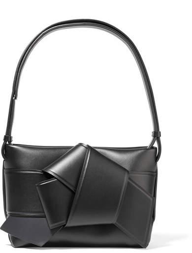 Acne Studios - Musubi Knotted Leather Shoulder Bag - Black