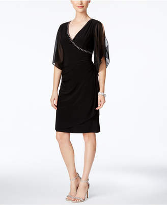 MSK Embellished Illusion Sheath Dress $89 thestylecure.com