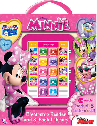 LIBRARY Minnie Mouse Electronic Reader and 8-Book