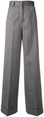 Pt01 wide leg tailored trousers