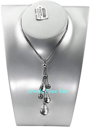 Baccarat Jewelry Amazing Divine Long Necklace Tahiti Black Pearl 18k Gold $7,200
