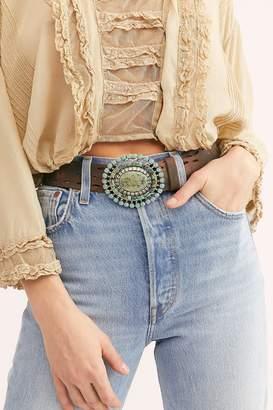 Leather Rock Dakota Sunshine Leather Belt