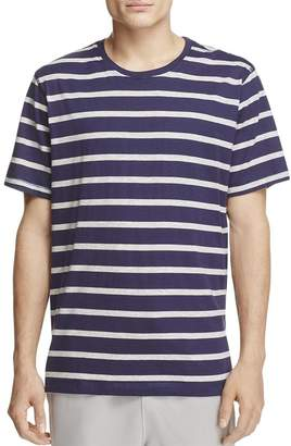 Daniel Buchler Men Cottontriped T-hirt Navy