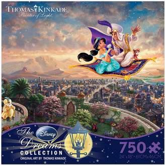 Disney Dreams Collection 750-pc. Aladdin Puzzle by Thomas Kinkade