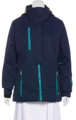 Obermeyer Hooded Zip-Up Jacket