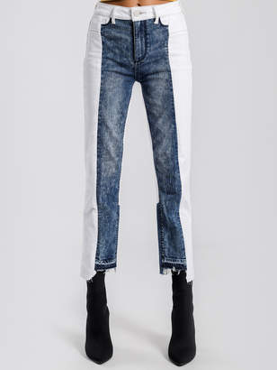 Paige Hoxton High Rise Straight Leg Ankle Jeans