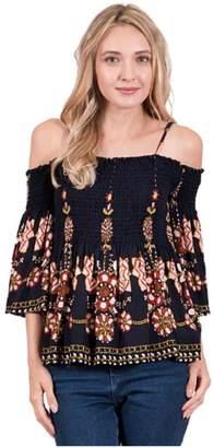 Blush Lingerie Floral Off Shoulder