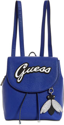 GUESS Varsity Pop Logo Pin Up Small Backpack