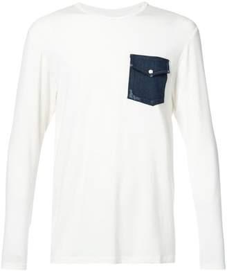 United Rivers denim pocket T-shirt