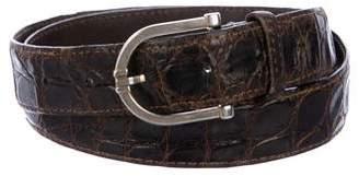 Dunhill Crocodile Belt