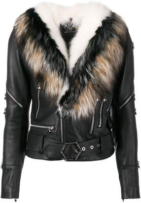 Philipp Plein zipped jacket