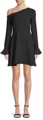 LIKELY Reese Asymmetrical Neck Dress