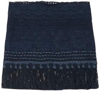 VMT Careyes Natalie crochet mini skirt