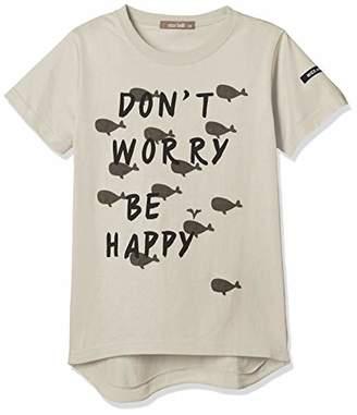 nico hrat (ニコ フラート) - [ニコフラート] Tシャツ くじらTシャツ キッズ 290103 グレー 日本 120 (日本サイズ120 相当)