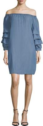 Beach Lunch Lounge Women's Off-The-Shoulder Shift Dress