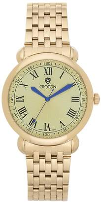 Croton Men's Heritage Stainless Steel Watch