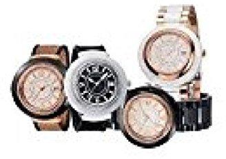 Alor Watches WHT / GLDバンドまたはGLD /シルバー織りband. WHT FACE ROMAN NO。日付。