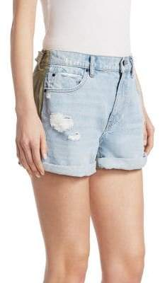 Alexander Wang Hike Denim Cargo Shorts