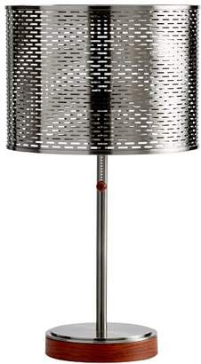 Pottery Barn Teen Perforated Shade Table Lamp with USB