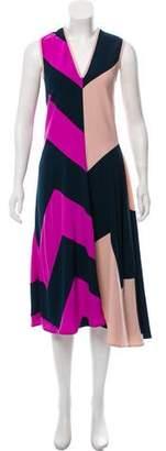 Araks Abstract Sleeveless Dress