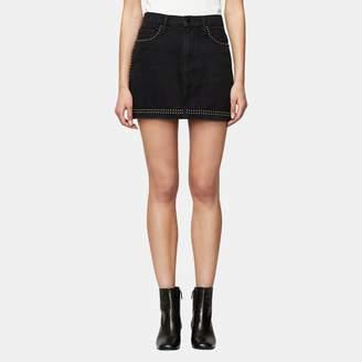 Frame Le Studded Mini Skirt