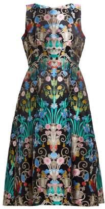 Mary Katrantzou Talon Floral Jacquard Midi Dress - Womens - Multi