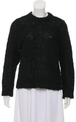 Avelon Open Knit Mohair-Blend Sweater