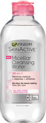 Garnier SkinActive Micellar Cleansing Water & Makeup Remover $8.99 thestylecure.com