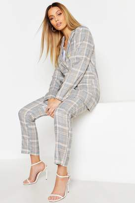 boohoo Check Tailored Trouser