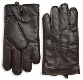 Ralph Lauren Classic Cashmere-Lined Leather Gloves