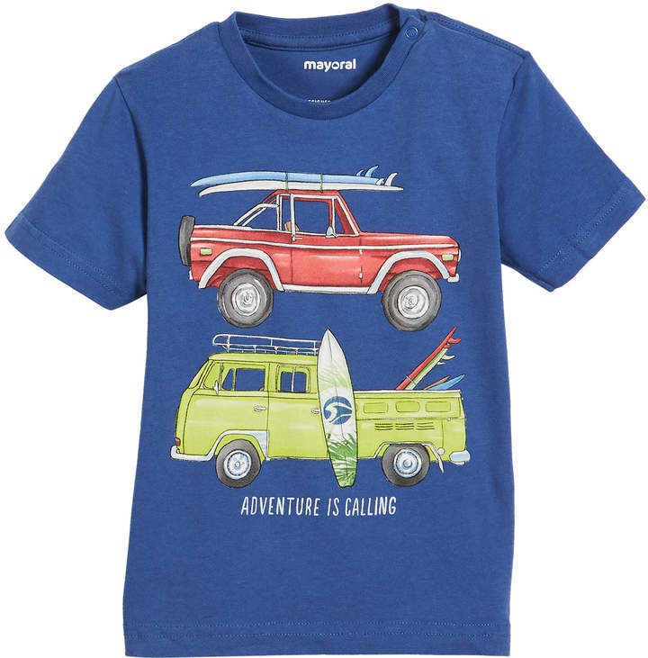 Short-Sleeve Surf Wagons Graphic T-Shirt, Size 12-36 Months