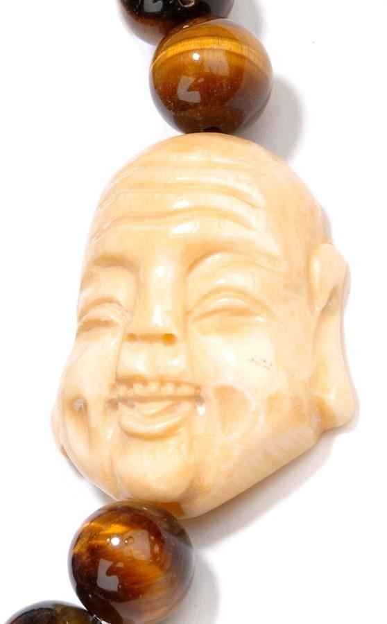 Yochi Design Buddha Beaded Bracelet