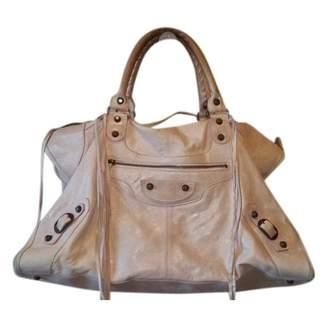 Balenciaga Work leather tote