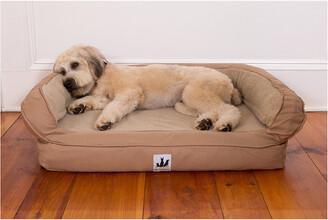 3 Dog Pet Supply Ez Wash Fleece Headrest Memory Foam