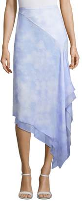 Michael Kors Silk Chiffon Skirt