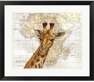 Out of Africa Metaverse By Jane Wilson Framed Art
