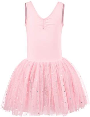 LTB Flo Dancewear Little & Big Girls Cross-Bar Tank Leotard Dress