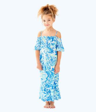 Lilly Pulitzer Girls Clary Maxi Dress