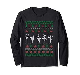 Ballet Christmas Sweater Gifts For Him Her