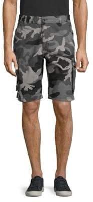 fb1dd60ba3 Camo-Print Cotton Cargo Shorts