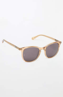 clear Wonderland Barstow Gold Sunglasses