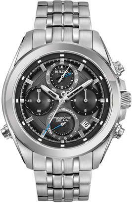 Bulova 44.5mm Men's Chronograph Bracelet Watch