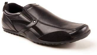 Deer Stags Animal Faux Leather Hip Slip-Resistant Slip-On - Wide Width Available