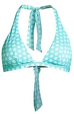 Vilebrequin Women's Fleche Halter Bikini Top