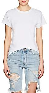Icons Women's Braided-Back Cotton T-Shirt-White