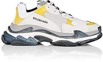 Balenciaga Men's Triple S Sneakers - White