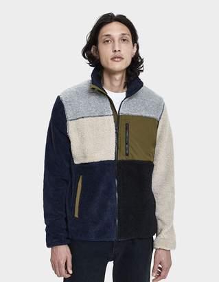 Penfield Mattawa Fleece Zip-Up Jacket in Peacoat