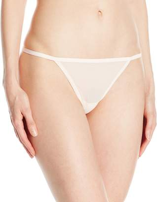 Calvin Klein Women's Sheer Marquisette Thong String Panty