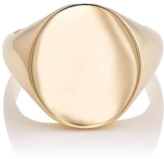 Barneys New York Men's Oval Signet Ring